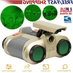 Night Vision Surveillance Scope Binoculars Telescope Pop-Up