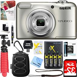 Nikon COOLPIX A10 16.1MP 5x Optical Zoom NIKKOR Glass Lens D