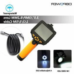 DBPOWER NTS200 3.5 LCD 3MP 720P HD Borescope USB Endoscope 8