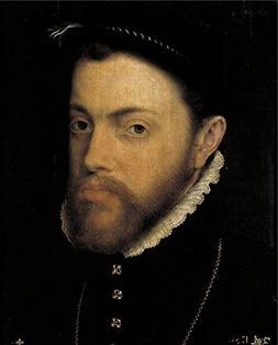 Oil Painting 'Moro Antonio Felipe II 1555 58', 30 x 37 inch