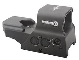 TAC Vector Optics Omega 1x Tactical Reflex 8 Reticle Red Dot
