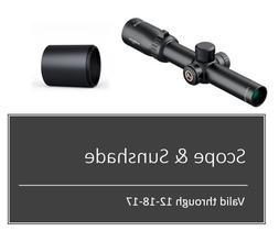 Athlon Optics , Midas BTR , Riflescope , 1-6 x 24 Second Foc
