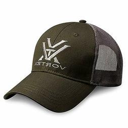 Vortex Optics Green And Grey Mesh Hat, New