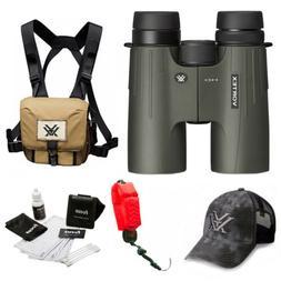 Vortex Optics Viper HD 10x42 Roof Prism Binocular  + Glasspa