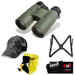 Vortex Optics10x42 Viper HD Binocular with Hat, Harness and