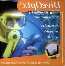 Trident Optx Flexible Dive Mask Magnifiers  3