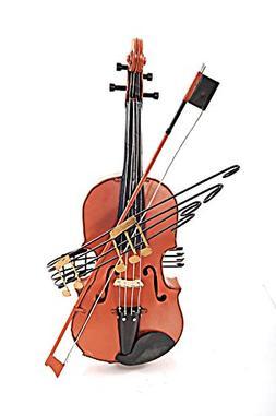 Orange Vintage Violin 1:2 Scale