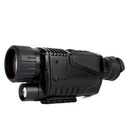 "SVBONY 1.5"" LCD P1 0540 IR Digital Night Vision Monocular 5x"