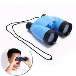plastic kid children magnification toy binocular telescope +
