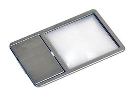 Kenko pocket magnifier ultra-thin card-type magnifier with L