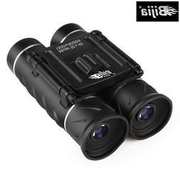 BIJIA 30X40 Small Pocket-Size Mini Portable HD BAK4 Binocula