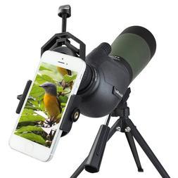 Gosky Porro Prism Spotting Scope Waterproof 20-60x 80mm Bird