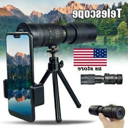 Portable 4K 10-30X30mm Super Telephoto Zoom Monocular Telesc