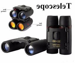 Portable Compact Binocular High Definition Telescopes for Bi