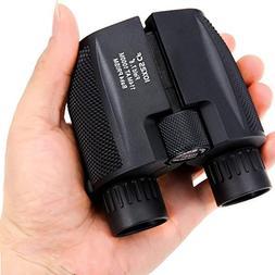 YSD 10x25 Portable Folding High Magnification Binoculars,Wat
