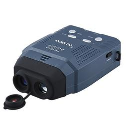 Portable Digital 2x IR Night Vision Monocular Blue Infrared