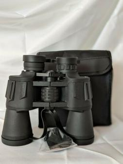 20x50 powerful high definition binoculars with durable porta
