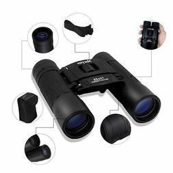 Powerful Compact Binoculars 10x25 By Merytes - Heavy Duty -