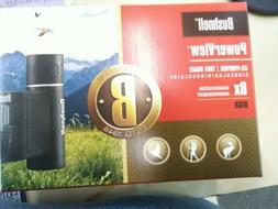 Bushnell Powerview Binocular Fully Coated Black Compact Size