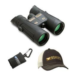 Steiner Predator 8x42 Binoculars with Cap and Microfiber Len