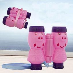 Euone  Projector Binoculars Toy, Projector Binoculars Pink E