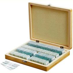 AmScope PS100E 100 Piece Assorted Specimen Collection for Ho