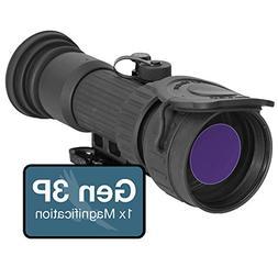 ATN PS28-3P Night Vision Gen 3P Clip-On System, 64-72lp/mm R