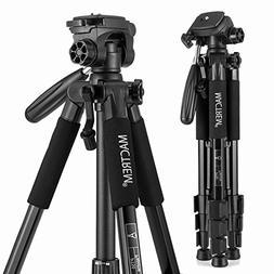 MACTREM M-PT55-Bk PT55 Travel Camera Tripod Lightweight Alum
