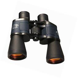 Quick Focus Binoculars 10x50 Waterproof Wide Angle Telescope