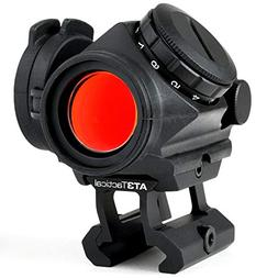 """AT3 Tactical RD-50 PRO Red Dot Sight with .83"""" Riser - for A"""