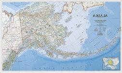 National Geographic RE00602458 Map Of Alaska