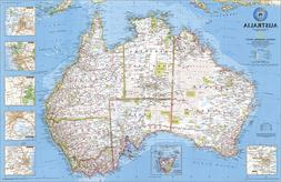 National Geographic RE00620002 Map Of Australia