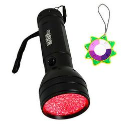 HQRP Red Light 51-LED Flashlight Torch for Astronomy & Aviat