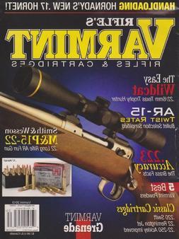 Rifle's Varmint Rifles & Cartridges Magazine 2013
