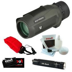 Vortex Optics S836 8x 36mm Monocular + LED Flashlight + Acce