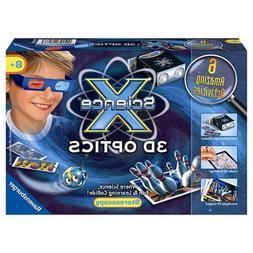 Ravensburger Science X Kit 3D Optics