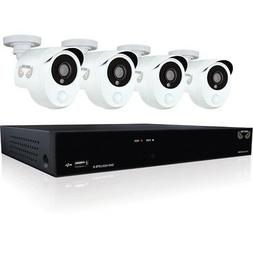 8 Channel Security Sys w4 Cam