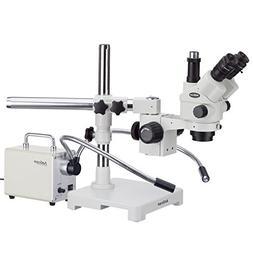 AmScope 3.5X-90X Simul-Focal Stereo Lockable Zoom Microscope