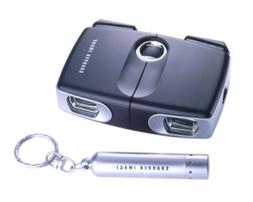 Sharper Image Sliding Pocket Binocular - Binoculars 8 x 18