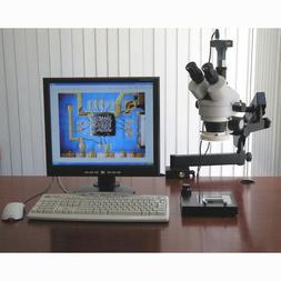AmScope SM-6TZ-80S-8M Digital Professional Trinocular Stereo