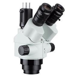 AmScope 7X-45X Simul-Focal Trinocular Zoom Stereo Microscope