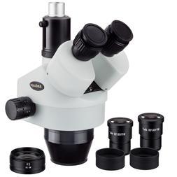 AmScope SM790T 7X-90X Trinocular Zoom Power Stereo Microscop