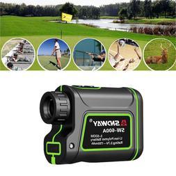 Smart Laser Rangefinder 600m/1000m Distance Monocular Golf A