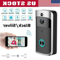 Smart WiFi Doorbell Wireless IR Video Camera Intercom Record