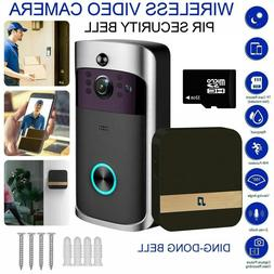 WiFi Wireless Video PIR Doorbell Two-Way Door Bell Talk Smar