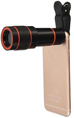 Smartphone Camera Lens, High Definition 12X Universal Optica