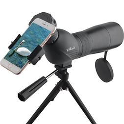 Gosky Skybird 60mm Spotting Scope & Quick Smartphone Mount K
