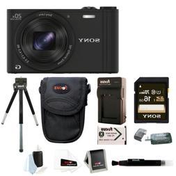Sony Cybershot WX350 Digital Camera w/ 16GB SD Card & Batter