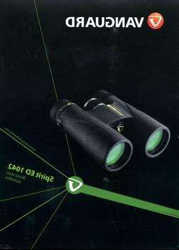 spirit ed 1042 10x42 binocular black new