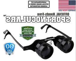 SPORTNOCULARS- Hands-Free Binocular Glasses for Opera,Fishin